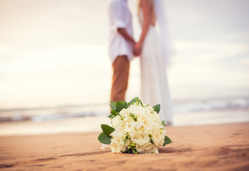 Maui Hawaii Romantic Beach Side Wedding