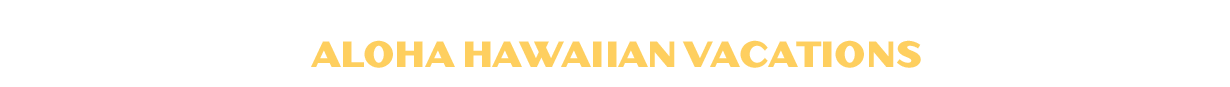 Aloha Hawaiian Vacations Logo